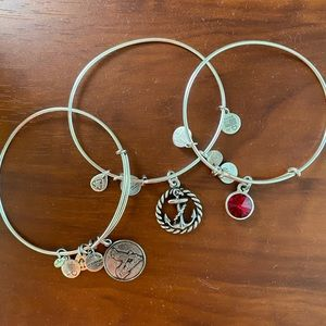Alex and Ani bracelets (3 total)